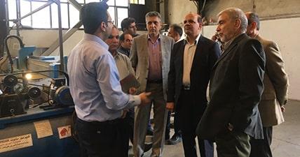 بازدید مدیران شرکت توسعه حفاری تدبیر از توانمندی های شرکت خدمات فنی میادین آسماری